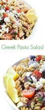 What Is Pasta Salad Greek Pasta Salad The Lemon Bowl