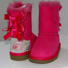 ugg boots on sale for toddler luxury bailey bow ugg boots made w swarovski crystals small size