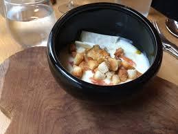 cuisine celeri oeuf poché crème de céleri et saumon fumé picture of la poule