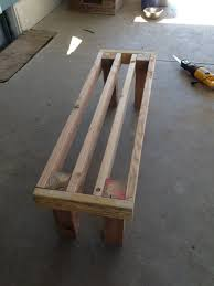 Deck Wood Bench Seat Plans by Photo 5 Diy Pallet Bench Diy Pinterest Pallet Bench Pallets