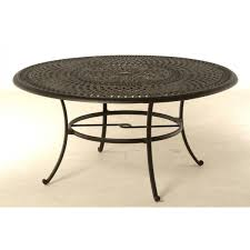Inch Round Outdoor Dining Table - 60 inch round wrought iron outdoor dining tables