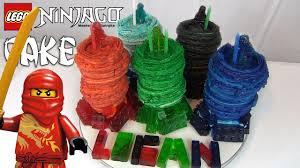 ninjago cake lego ninjago cake how to make the masters of spinjitzu and gummy