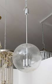 glass globes for chandeliers vintage glass pendant globe light fixture for sale at 1stdibs