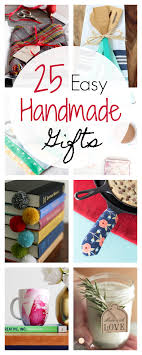 25 and easy gift ideas projects