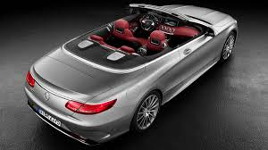 convertible mercedes black 2017 mercedes s550 cabriolet and s63 amg cabriolet ahead of
