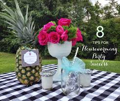 8 tips for housewarming party success simply sarah style