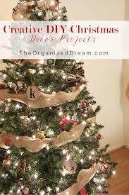 creative diy christmas decor projects the organized dream