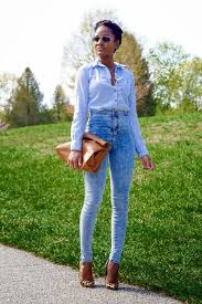 Light Blue High Waisted Jeans 20 Style Tips On How To Wear High Waisted Jeans Ideas