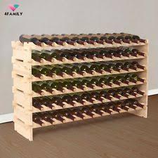 wooden free standing wine racks u0026 bottle holders ebay
