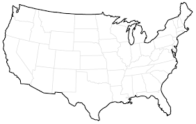 Blank North America Map by Citizenship North Dakota Studies