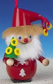 German Christmas Tree Decorations Uk by Xwg5 0546 Retired Steinbach Pear Tree Santa Wooden German