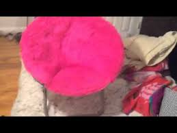 Saucer Chair Cover How To Fold A Saucer Chair Youtube