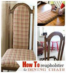 How To Upholster A Dining Room Chair Reupholster Dining Room Chairs Artistic Upholstering Dining Chair