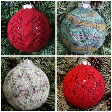 kalamazoo knits deck the balls lace ornaments