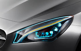 mercedes headlights for seeing after dar but also meant to be seen vehicle cars and