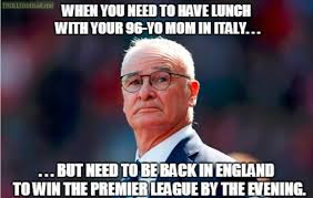 First Meme - my first meme for ranieri dilly ding dilly dong troll football