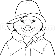 how to draw paddington bear step by step characters pop culture