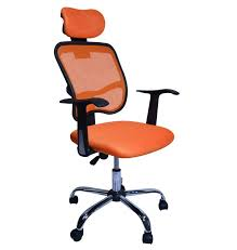 fauteuil de bureau orange chaise de bureau orange magasin en ligne gonser