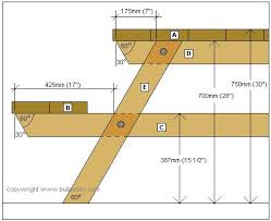Build A Picnic Table Kit by Octagonal Picnic Table Project Cross Section Plan Wood Making