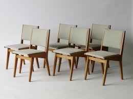 american 666 usp dining chairs by jens risom for knoll 1950s set