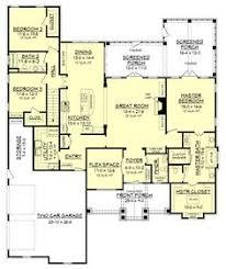 Room Design Floor Plan One Story Open Floor Plans With 4 Bedrooms Generous One Story