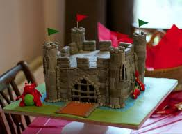 castle cake with red dragon jpg hi res 1080p hd