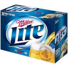 Bud Light 12 Pack Price Miller Lite Beer 12 Fl Oz Can 24 Pk Sam U0027s Club