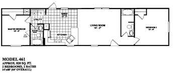 single wide mobile home floor plans wonderful decoration 2 bedroom mobile home floor plans two homes l