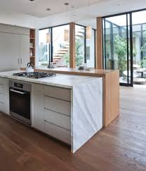 mid century kitchen design mid century kitchen contemporary with cantilevered stairs modern