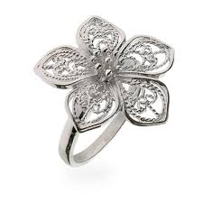 vintage flower rings images Style filigree flower ring eve 39 s addiction jpg