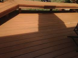deck cleaning and staining a paneless perfection the triad u0027s