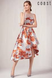 coast dresses buy coast auroa coral jacquard dress from the next uk online shop