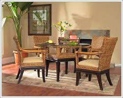 photo rattan dining room set images rattan dining set home
