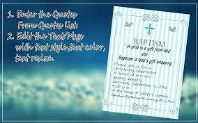 baptism invitation maker android apps on google play
