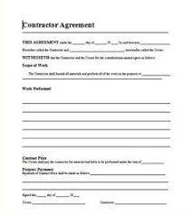 sample general contract for services form template contracts