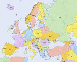 Europe World Map by Kids Maps
