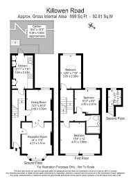 Groombridge Place Floor Plan by 3 Bed Maisonette For Sale In Killowen Road London E9 44381731
