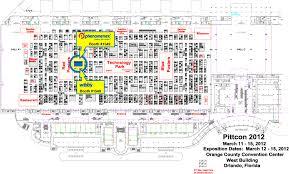 Orange County Convention Center Floor Plan Phenomenex Pittcon 2017