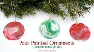 poured ornaments pour painting for twitchetts