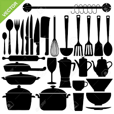kitchen endearing kitchen utensils vector 18148604 sets of full size of kitchen endearing kitchen utensils vector 18148604 sets of silhouette tools stock knife