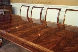 high end extra large u0026 long mahogany dining table seats 12 16