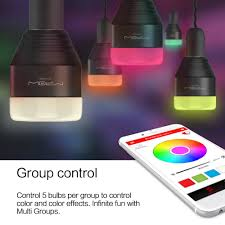 mipow bluetooth smart led light bulbs app smartphone