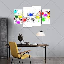 Wall Paintings For Living Room Musical Wall Paintings Promotion Shop For Promotional Musical Wall