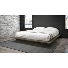 Platform Bed With Mattress Included Modern Platform Beds Allmodern