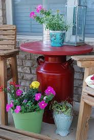 Old Milk Can Decorating Ideas Best 25 Old Milk Cans Ideas On Pinterest Milk Can Table Milk