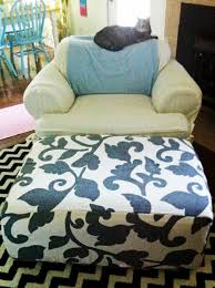 ottomans slipcovers for recliners sure fit stretch suede 3 piece