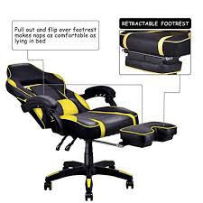 Desk Gaming Chair Giantex Gaming Chair Racing Chair Ergonomic High Back With