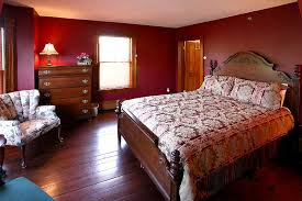 this is the dark red color of our bedroom should our ceiling be