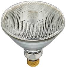 philips 145516 175 watt par38 clear heat lamp light bulb