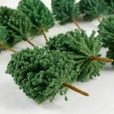 miniature artificial trees garden miniatures dollhouse